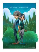 Mr. Tummy and Ms. Flat by Merilisle
