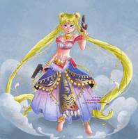 Gypsy Sailor Moon by Merilisle