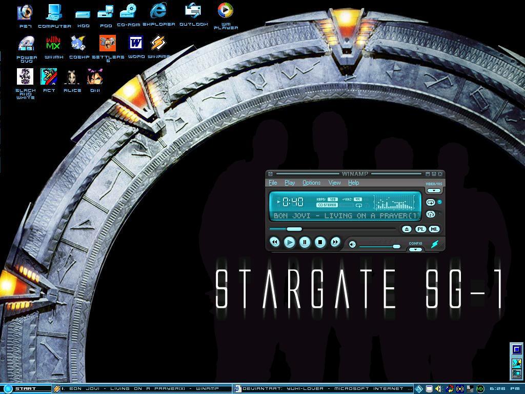 Stargate Backgorund by SG1-Jack