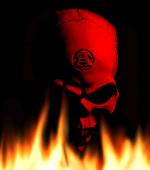 Evil Red Skull by mohsin-kun