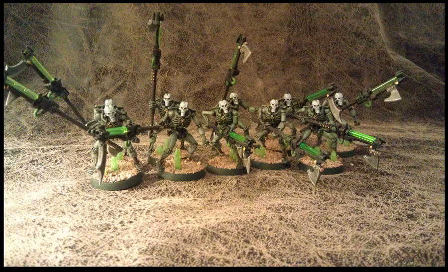 Necron Pariah's By OdditiesByErnie On DeviantArt