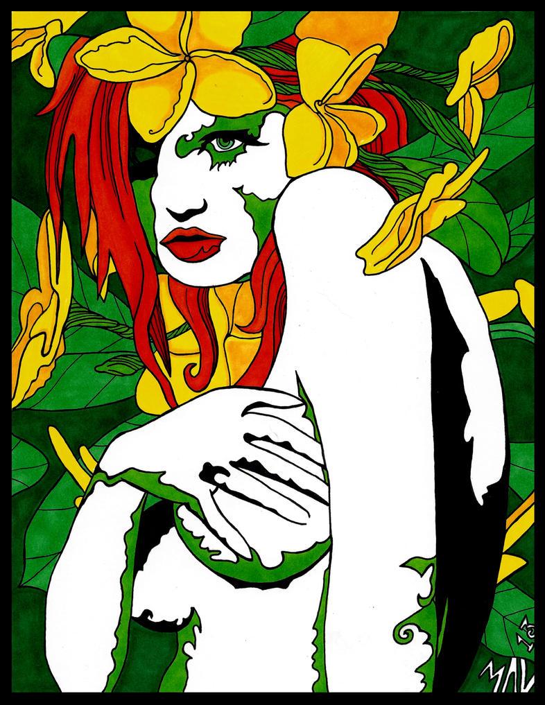 Poison Ivy by OdditiesByErnie