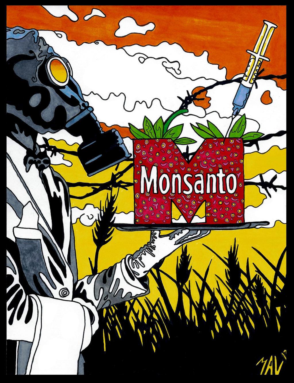 Monsanto by OdditiesByErnie