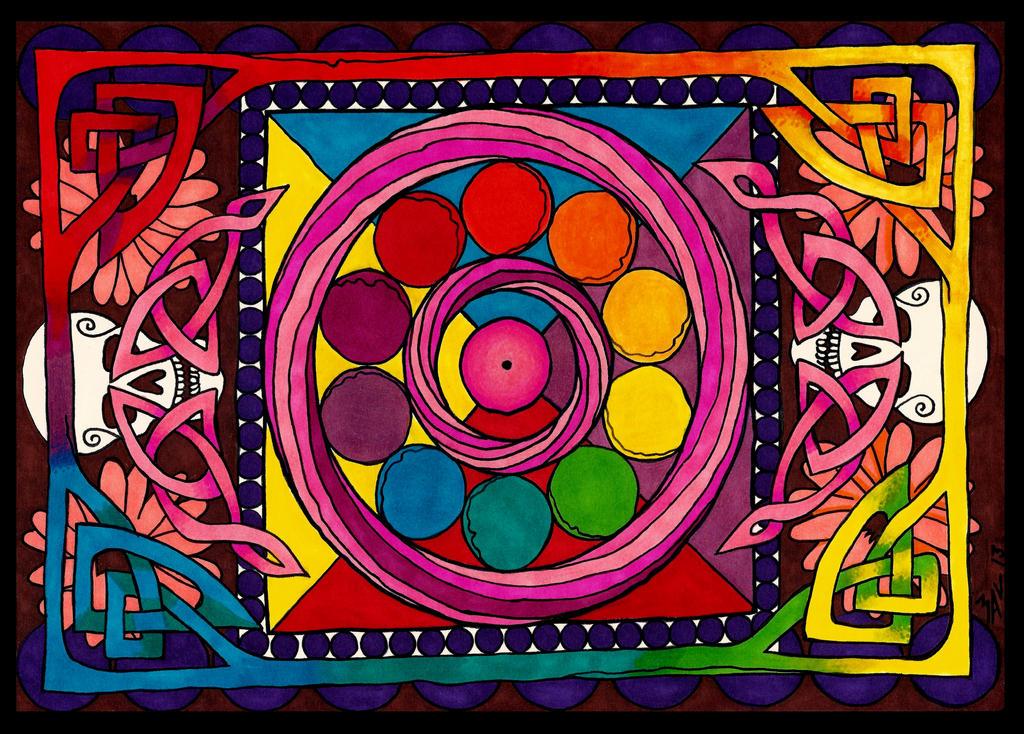 Mandala by OdditiesByErnie