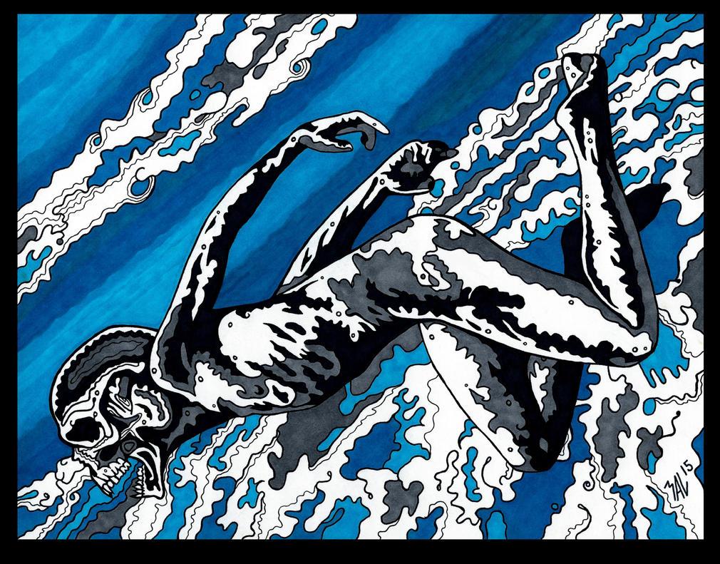 Eidolon Dive by OdditiesByErnie