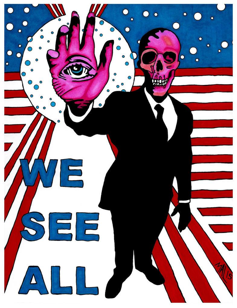 We See All by OdditiesByErnie