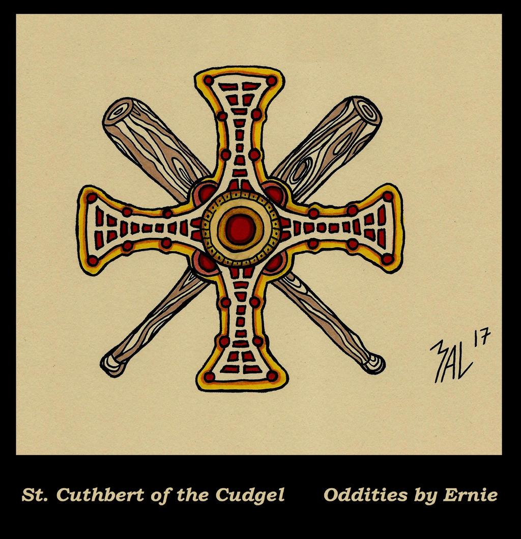 St Cuthbert  by OdditiesByErnie