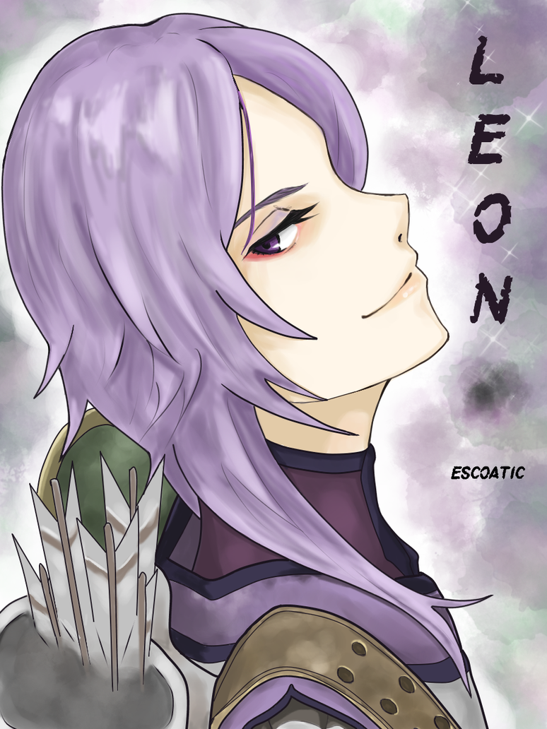 Fanart - FE Echoes SoV  Leon by Escoatic