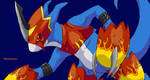 Flamedramon Collab