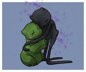 Hugs for Creeper