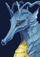Kingdra by Endivinity