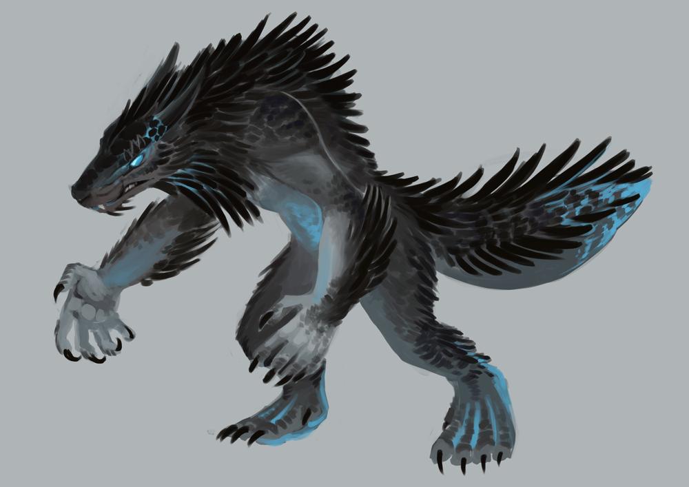Request Argonian Werewolfvampire Lord Retexture Skyrim Mod