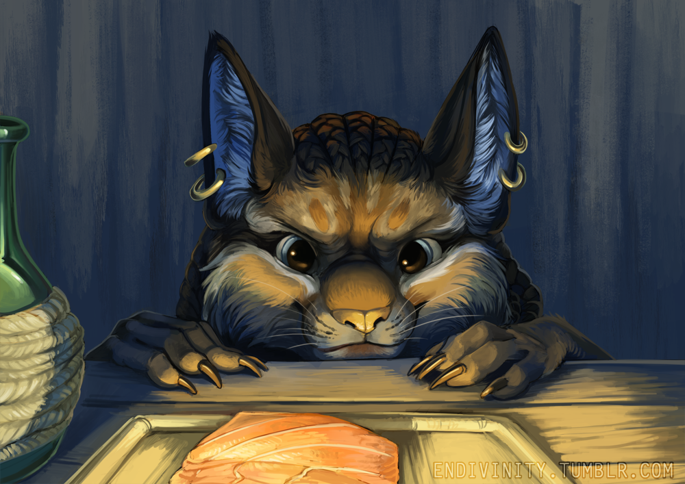 A Sneaky Supper by Endivinity