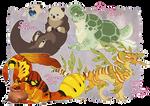 Leech Monsters: Mimics [CLOSED]