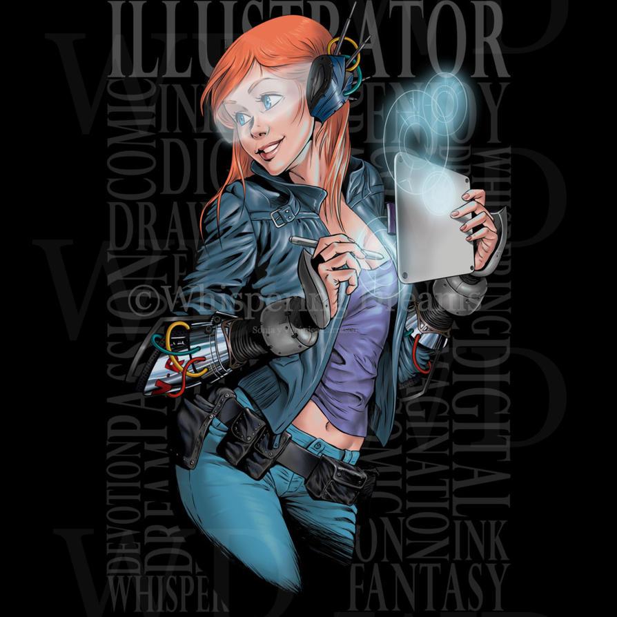 Illustrator by WhisperingDreamsart
