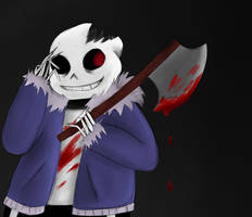 HORRORTALE Sans by CallMeKarma