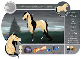 CW   Akira   Mare   Loners   Old Reference by TyraDragoness