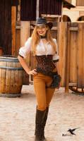 Steampunk model Amy Wilder by PhotosbyRaVen