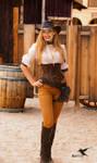 Steampunk model Amy Wilder