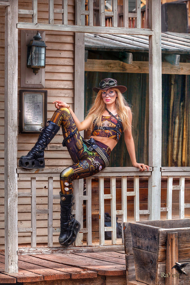 Steampunk model Amy Wilder 2017 by PhotosbyRaVen