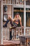 Steampunk model Amy Wilder 2017