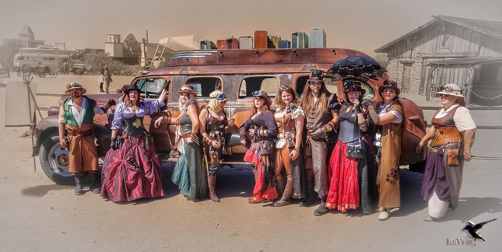 Steampunk Magical Mystery Tour 1890 by PhotosbyRaVen