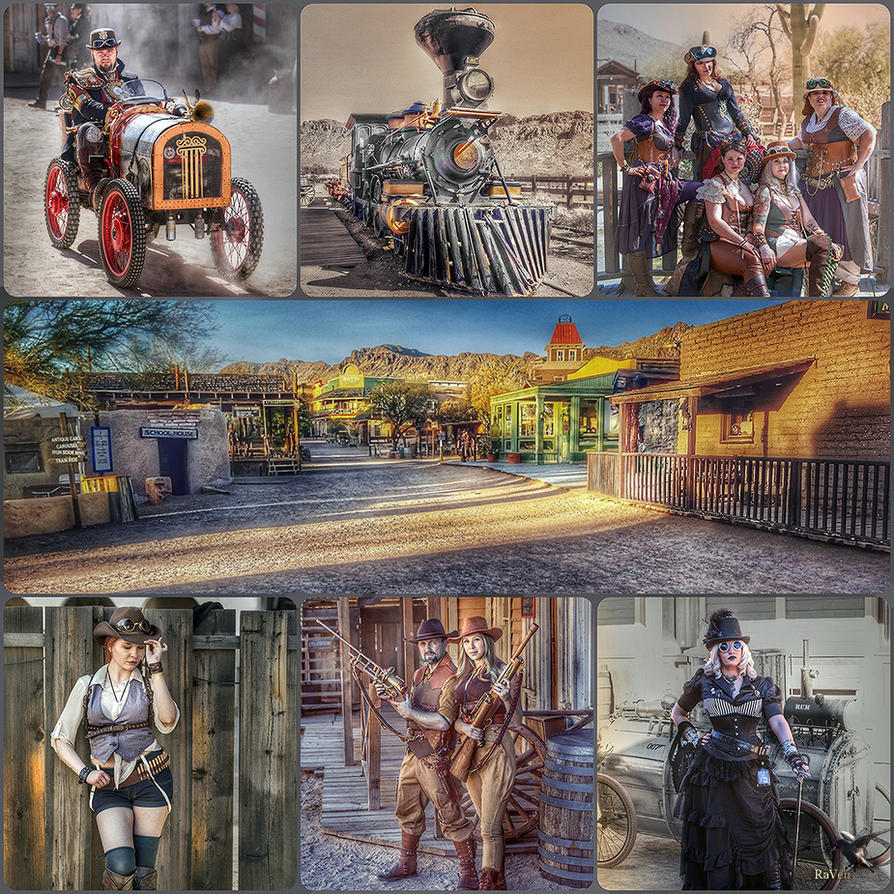 WWWC7 Gallery of Steampunk Moments collage by PhotosbyRaVen