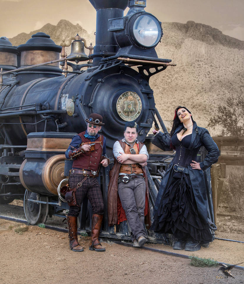 WWWC8 Steaming to the CON 1880 by PhotosbyRaVen