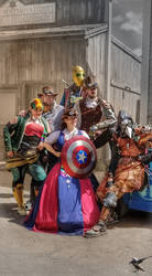 Steampunk Avengers 1890 Arizona Territorial Law by PhotosbyRaVen