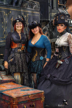 WWWC Seasons remembered with Steampunk friends