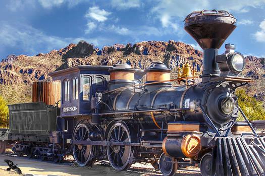 Steampunk Era Railroad RENO No 11