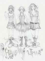 Haws, Holly, and Jenna by Camphor