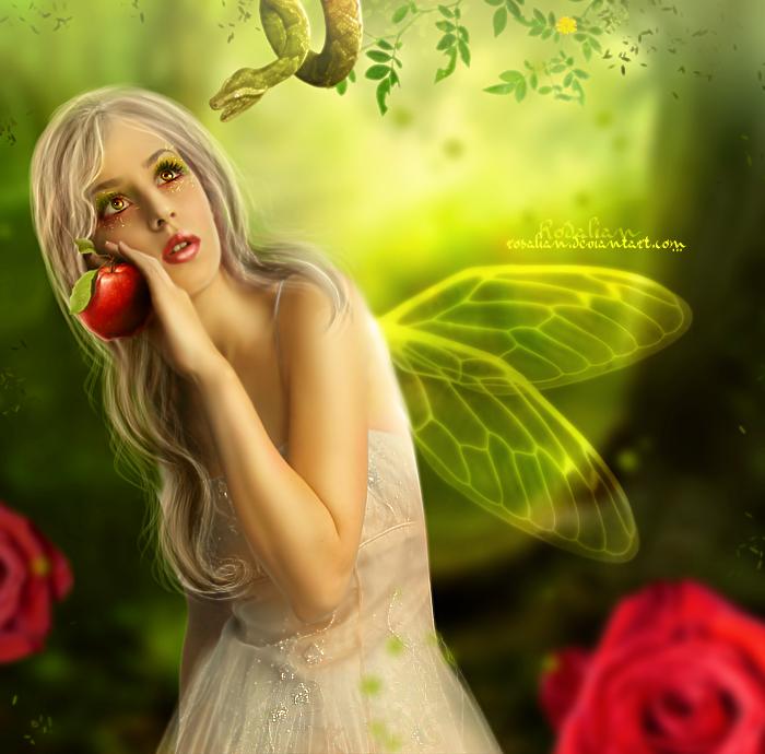 Butterfly apple by ROSALIAN
