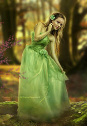 Beauty of the green by ROSALIAN