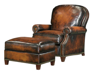 leather chair by MichelleGotham