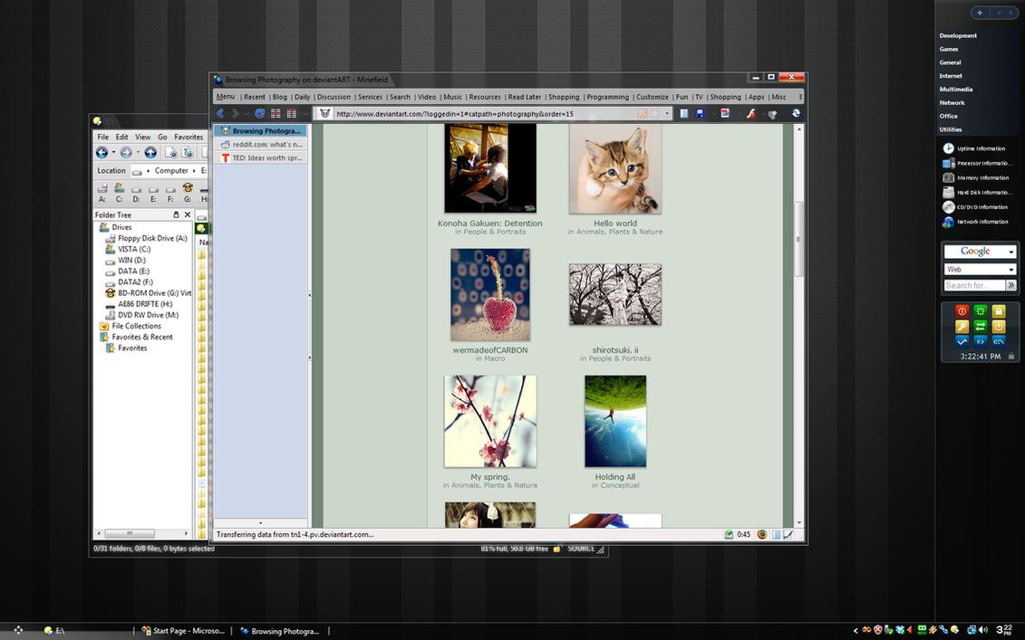 Desktop for September 2008 by tvnca