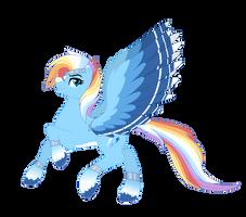 Generation 5 - Rainbow Dash Redesign