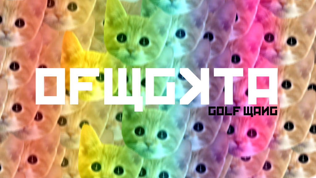 Ofwgkta Cat Wallpaper