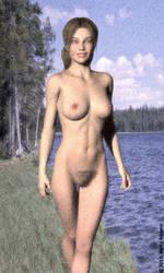 becky-romero-naked-at-the-lake-01 by BeckyRomero