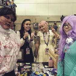 Anime Expo 2015 - Meeting Suzy and Holly!