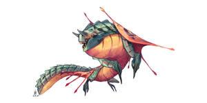 Piranha dragon, aka Swamp King