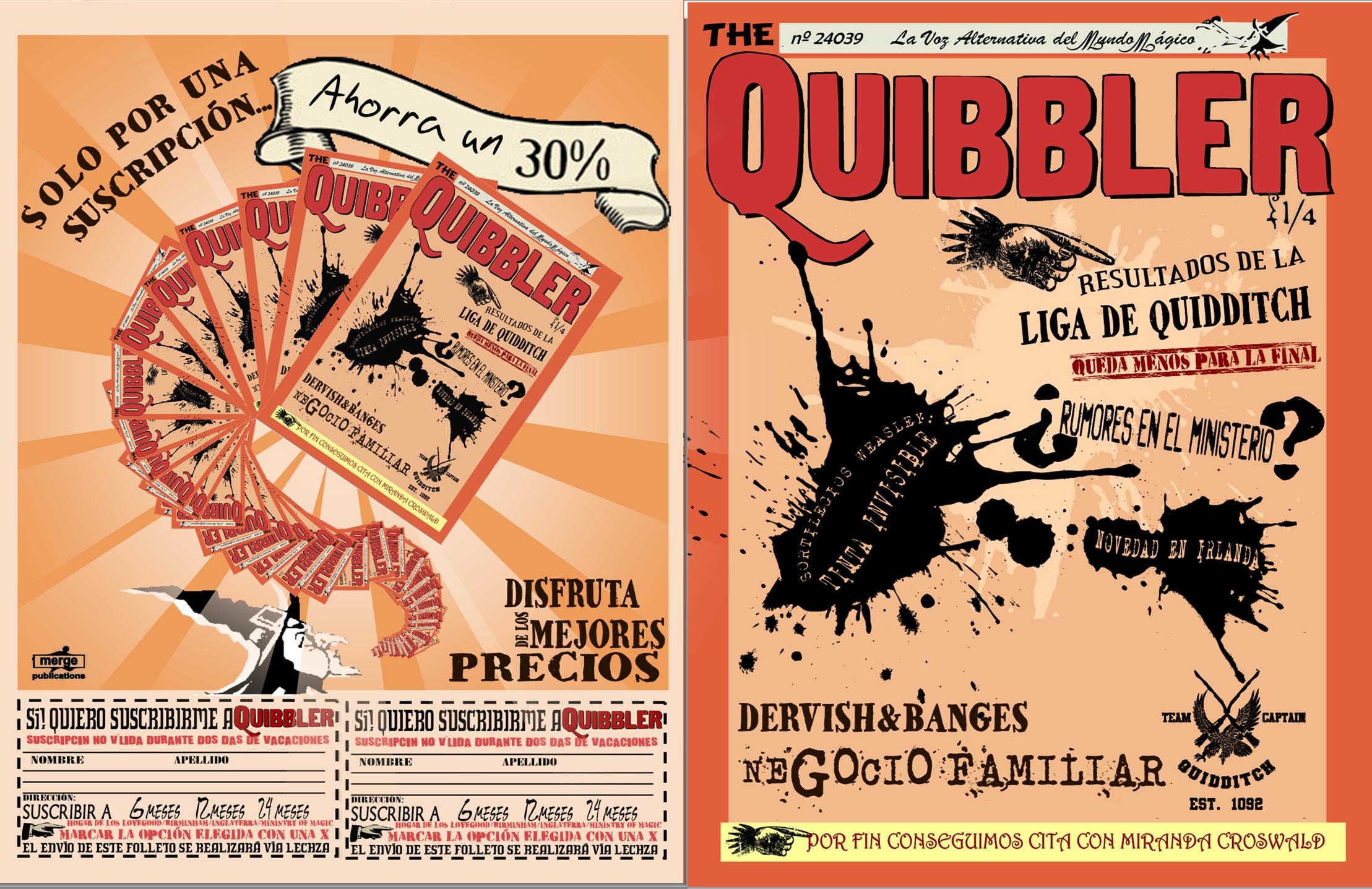 Quibbler Cover The Spanish Quibbler C...