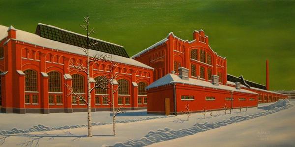 Warehouse in Helsinki. by MarkkaLaitinen