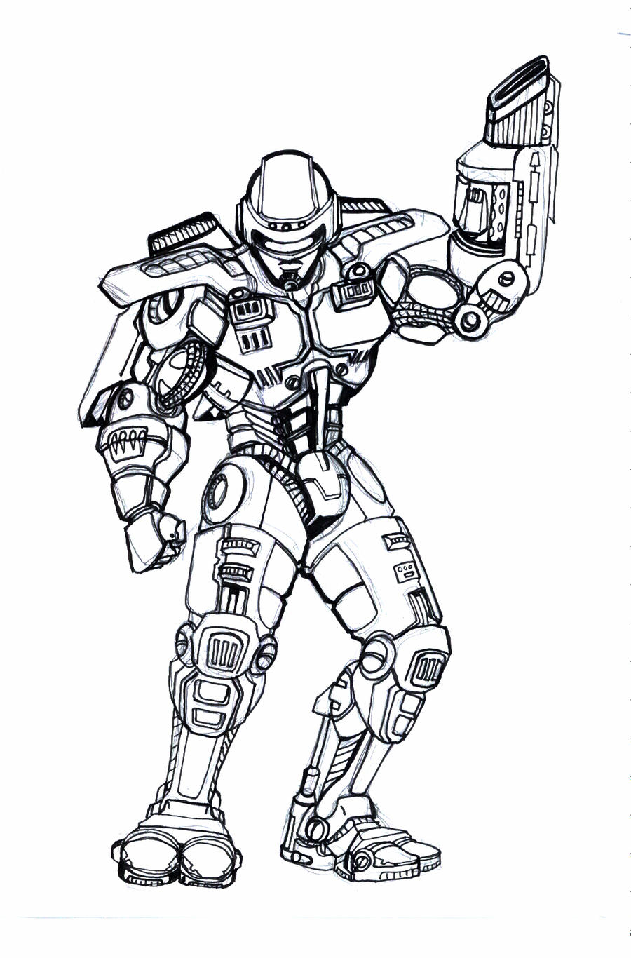 robocop coloring pages - photo#24