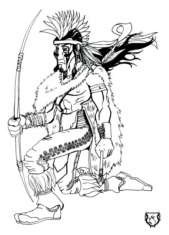 The-Hunter MoonWolf by gorillagraffix