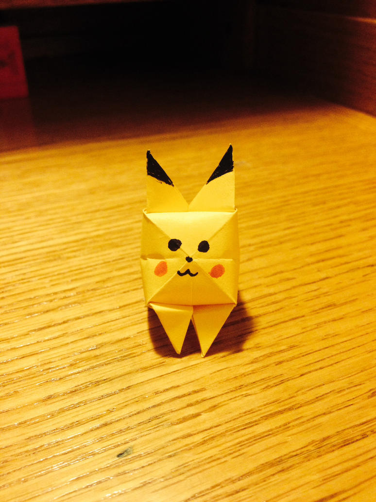 Origami Pikachu By Fire Rush