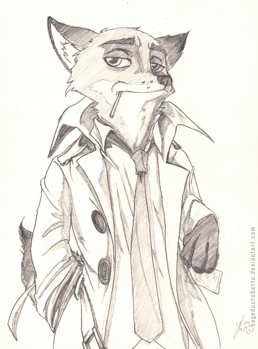Commission - Nick Wilde