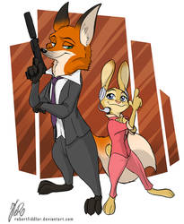 Zootopia - The Operator and the Agent Storyline by RobertFiddler