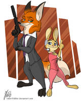Zootopia - The Operator and the Agent Storyline