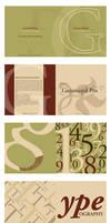 Garamondology Type Specimen by jrbamberg